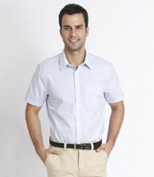 Men's CVC short sleeve shirt P5DA1840944