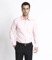 Men's CVC long sleeve shirt P5LG701