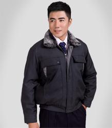 Winter fiberfill-layered jacket AC-7754