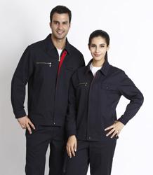 S/F 100% cotton long sleeve jacket P2LS01