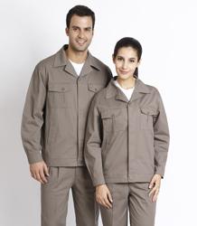 S/F 100% cotton long sleeve jacket P2LS03
