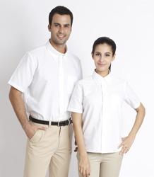 Poly-cotton Oxford short sleever shirt P5P00802-OLS